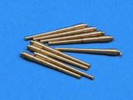 Aber Accessories  1/700 IOWA CLASS 406MM BARREL SET (9) ABR700-L24