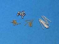 Aber Accessories  1/700 Set of gun barrels for the Italian Battleship ABR700L35