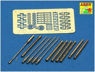 Aber Accessories  1/32 German Me.110C/D Gun Barrel Set ABRA32110