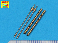 Aber Accessories  1/48 Set of 2 barrels for Japan Type 3 MG ABRA48013