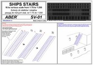 Aber Accessories   N/A Ships Stairs 1/100 scale ABRSV01