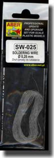 Aber Accessories  1/35 Soldering wire diameter 0,25mm length 10m ABRSW025