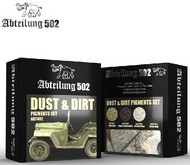 Abteilung 502  Pigments Dust & Dirt Pigment Set (4 Colors) 20ml Bottles ABT402