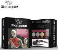 Abteilung 502  Pigments Fantasy & Metallics Pigment Set (4 Colors) 20ml Bottles ABT405