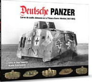Abteilung 502   N/A Deutsche Panzer German Tanks in WWI (1917-18) Book (Hardback) ABT720