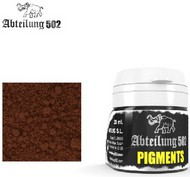 Abteilung 502  Pigments Weathering Pigment Brown Rust 20ml Bottle ABTP238