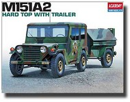 Academy  1/35 USA M151A2 Hard Top w/ Trailer ACY13012