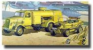 Academy  1/72 German Fuel Truck & Schwimmwagen ACY13401