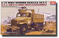 Academy  1/72 U.S. Cargo Truck & Accessories ACY13402
