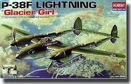Academy  1/48 P-38F Lightning Glacier Girl ACY12208