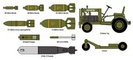 Academy  1/48 WWII US Armament w/Ground Service Equipment ACY12291