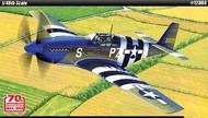 Academy  1/48 P-51B Mustang Blue Nose USAAF Fighter Normandy Invasion 70th Anniversary ACY12303