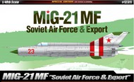 Academy  1/48 MiG21MF Soviet Air Force & Export Supersonic Jet Fighter ACY12311