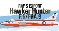 Academy  1/48 Hawker Hunter F6/FGA9 RAF & Export Jet Fighter ACY12312