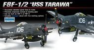 Academy  1/48 F8F1/2 USS Tarawa USN Fighter ACY12313