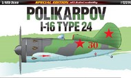 Academy  1/48 Polikarpov I16 Type 24 Fighter (Special Edition) ACY12314