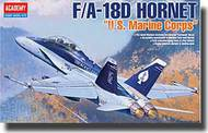 Academy  1/72 F/A-18D Hornet US Marines 2-Seater Fighter (New Version) ACY12422