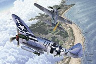 Academy  1/72 Fw.190A-8 & P47D Aircraft Normandy Invasion 70th Anniversary (Ltd Edition) (2 Kits)- Net Pricing ACY12513