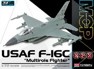 Academy  1/72 F-16C Multi-Role USAF Fighter (Snap) ACY12541