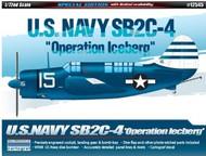 Academy  1/72 SB2C-4 Operation Iceberg USN Bomber (Special Edition Ltd Run) ACY12545