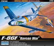 Academy  1/72 F-86F Korean War US Fighter ACY12546