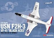 Academy  1/72 F2H3 VF41 Black Aces USN Fighter ACY12548