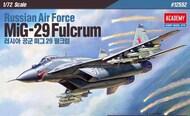 Academy  1/72 Mikoyan MiG-29 Fulcrum (Ex Zvezda) ACY12552