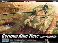 Academy  1/35 King Tiger Last Prod German Tank ACY13229