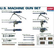 Academy  1/35 WWII US Machine Gun Set ACY13262