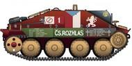 Academy  1/35 Jagdpanzer 38(t) Hetzer Tank Prague 1945 (Ltd Edition) ACY13277