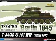 Academy  1/35 T34/85 No.183 Factory Tank Berlin 1945 ACY13295