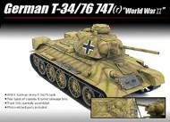 Academy  1/35 WWII T34/76 747(r) German Tank ACY13502