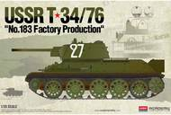 "Academy  1/35 USSR T-34/76 ""No.183 Factory Production"" ACY13505"
