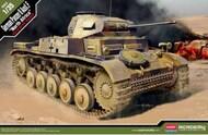Academy  1/35 German Panzer II Ausf F Tank North Africa - Pre-Order Item ACY13535