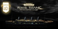 Academy  1/400 1/400 RMS Titanic Ocean Liner Premium Edition w/LED, wood deck, photo-etch (Limited) ACY14226
