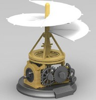 """Academy  Snap DaVinci Helicopter (Approx 9"""" T) (Snap) - Pre-Order Item ACY18159"""