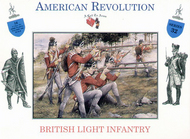 A Call to Arms Figures  1/32 Revolutionary War: British Light Infantry AAF3232