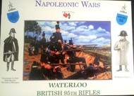 A Call to Arms Figures  1/32 Napoleonic Wars: Waterloo British 95th Rifles (32) AAF35