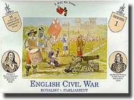 A Call to Arms Figures  1/32 Royalist vs. Parliament AAF3201