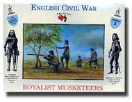 A Call to Arms Figures  1/32 Royalist Musketeers AAF3203
