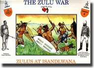 A Call to Arms Figures  1/32 Zulu's At Islandwana AAF3204