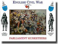 A Call to Arms Figures  1/32 Parliament Musketeers AAF3205