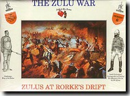 A Call to Arms Figures  1/32 Zulu's at Rorke's Drift AAF3206