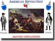 A Call to Arms Figures  1/32 British Infantry American Revolution AAF3208