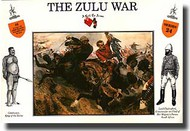 A Call to Arms Figures  1/32 The Zulu War: Zulus at Ulundi AAF3224