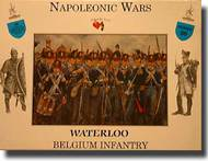 A Call to Arms Figures  1/32 Napoleonic Wars: Waterloo Belgium Infantry (16) AAF3230