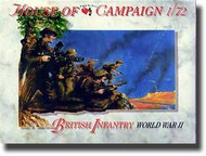 A Call to Arms Figures  1/72 British Infantry WW II AAF7252