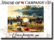 A Call to Arms Figures  1/72 Union Infantry AAF7255