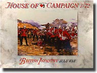 A Call to Arms Figures  1/72 British Infantry Zulu War AAF7257