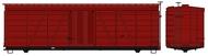 Accurail  HO 36' Fowler Wd Boxcar Undec ACU1150